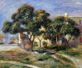 Pierre-Auguste Renoir - The Medlar Trees
