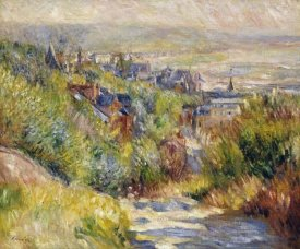 Pierre-Auguste Renoir - The Heights at Trouville