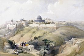 David Roberts - View of Jerusalem