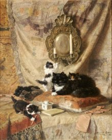 Henriette Ronner-Knip - Work Rest and Play