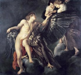Peter Paul Rubens - The Rape of Ganymede