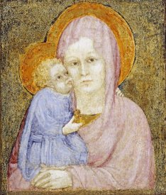 Lorenzo Salimbeni - The Madonna and Child