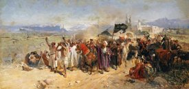 Nikolai Semenovich Samokish - Shi'ite Muslims Commemorating The Martyrdom of Hussein