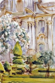 John Singer Sargent - Palace and Gardens, Spain