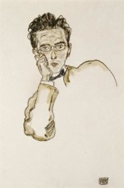 Egon Schiele - Portrait of The Art Dealer Paul Wengraf