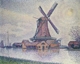 Paul Signac - Moulin D'Edam