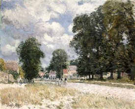 Alfred Sisley - The Road To Marly-Le-Roi