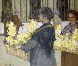 John Smellie - The Flowersellers, Argyle Street, Glasgow