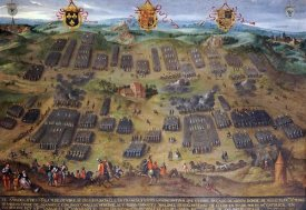 Jan Snellinck - The Battle of Moncontour, 30 October 1569