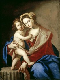 Massimo Stanzione - The Madonna and Child
