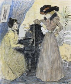 Theophile Steinlen - The Great Pains