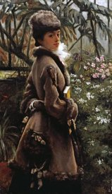 James Jacques Tissot - In The Greenhouse
