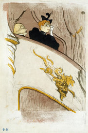 Henri Toulouse-Lautrec - The Box at The Mascaron Dore