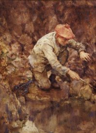 Henry Scott Tuke - Netting Lobster