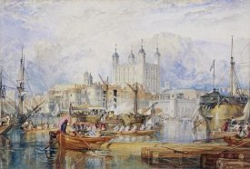 Joseph M.W. Turner - The Tower of London