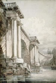 Joseph M.W. Turner - Old Blackfriars Bridge, London
