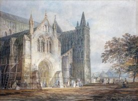 Joseph M.W. Turner - The North Porch of Salisbury Cathedral
