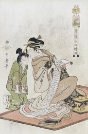 Kitagawa Utamaro - The Hour of The Dog