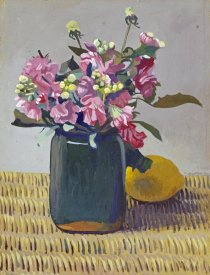 Felix Vallotton - A Bouquet OF Flowers and a Lemon