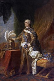 Charles Andre Van Loo - Portrait of King Louis XV of France and Navarre