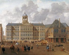 Isaac Van Nickele - The Town Hall On The Dam, Amsterdam