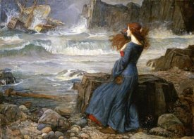 John William Waterhouse - Miranda - The Tempest