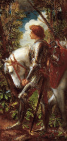 George Frederick Watts - Sir Galahad