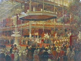 James Digman Wingfield - The Opening of The Great Exhibition