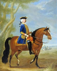 John Wootton - Portrait of a Mounted Officer