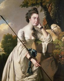 Joseph Wright - Portrait of Anna Ashton