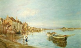 Charles William Wyllie - All On a Summers's Day, at Bosham, Sussex