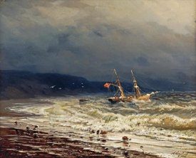 Ivan Konstantinovich Aivasowsky - Off The Turkish Coast