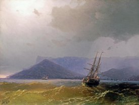 Ivan Konstantinovich Aivasowsky - Sailing Off The Crimean Coast