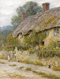 Helen Allingham - Cottage Near Wells, Somerset