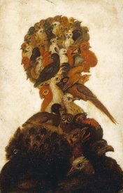 Giuseppe Arcimboldo - The Four Elements - Air