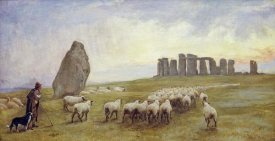 Edgar Barclay - Returning Home, Stonehenge, Wiltshire