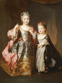 Alexis-Simon Belle - Portrait of Two Young Girls