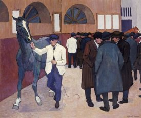 Robert Bevan - Horse Dealers at The Barbican