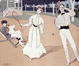 Maurice Biais - The Tennis Game