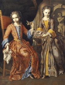 Domenico Bocciardo - Portrait of Two Girls
