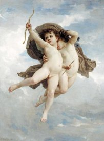 William-Adolphe Bouguereau - L'Amour Vainqueur