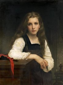 William-Adolphe Bouguereau - The Fair Spinner