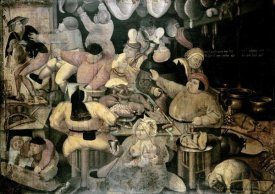 Pieter Bruegel the Elder - The Rich Kitchen
