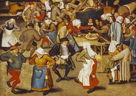 Pieter Bruegel the Elder - The Indoor Wedding Dance