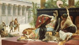 Alexandre Cabanel - Cleopatra Testing Poison On Condemned Slaves