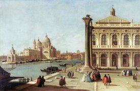 Giovanni Antonio Canal - Entrance To Grand Canal, Venice