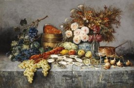 Modeste Carlier - A Bountiful Table