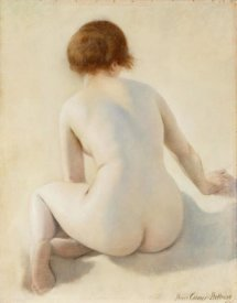 Pierre Carrier-Belleuse - A Nude