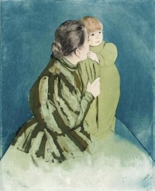 Mary Cassatt - Peasant Mother and Child