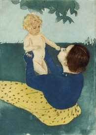 Mary Cassatt - Under The Horse Chestnut Tree